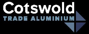 Cotswold Trade Aluminium Logo wh